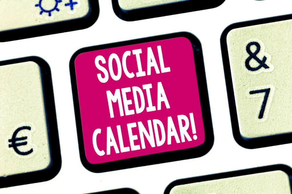 Calendário Redes Sociais