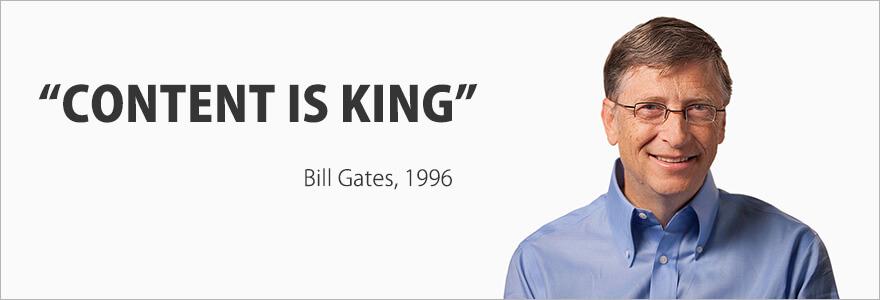 Em marketing digital, conteúdo é rei
